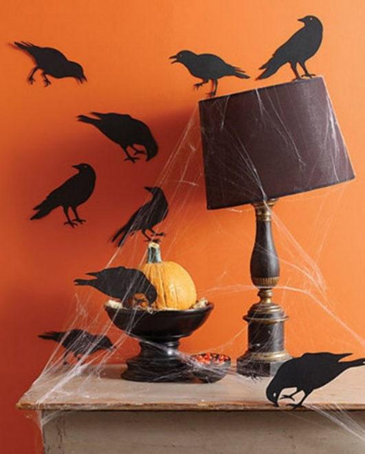 Декор для Хэллоуина своими руками