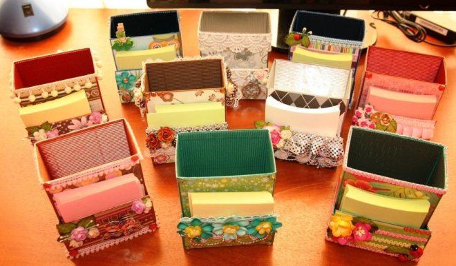Декоративные коробочки