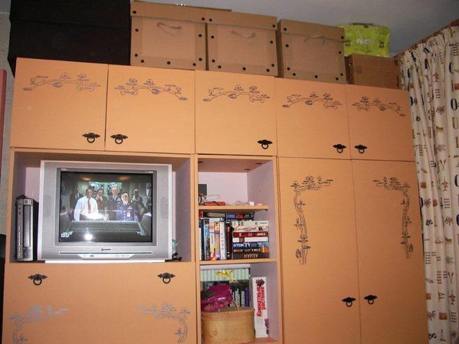 Использование самоклеющейся пленки на кухне