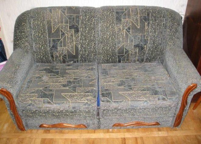 диван из двух кресел