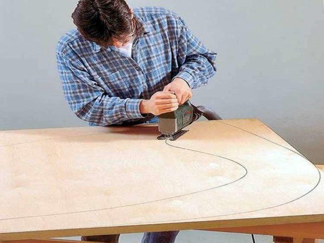 как сделать кресло-качалку из старого