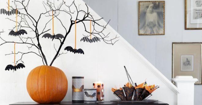 Декор для вечеринки на Хэллоуин