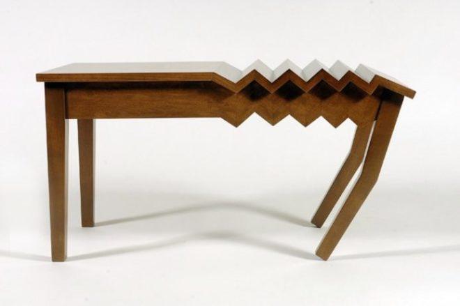 самый неудобный стол в мире