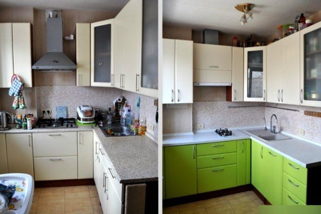 Новые дверцы фасада кухонной мебели