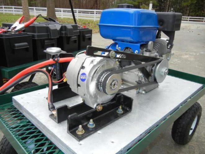 Газонокосилка из двигателя от стиральной машины
