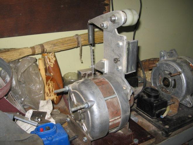 Гриндер из двигателя от стиральной машины