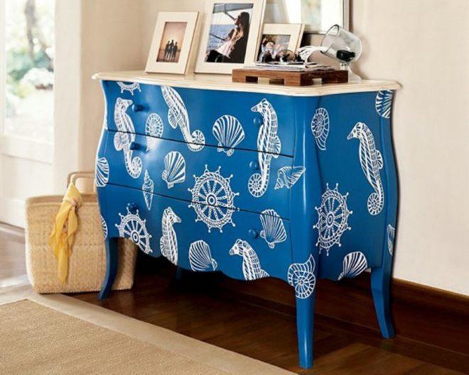 Как использовать старую мебель в современном интерьере