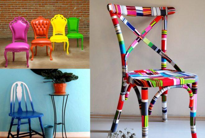 Обновлённые стулья