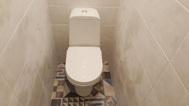 Замена пола в туалете своими руками