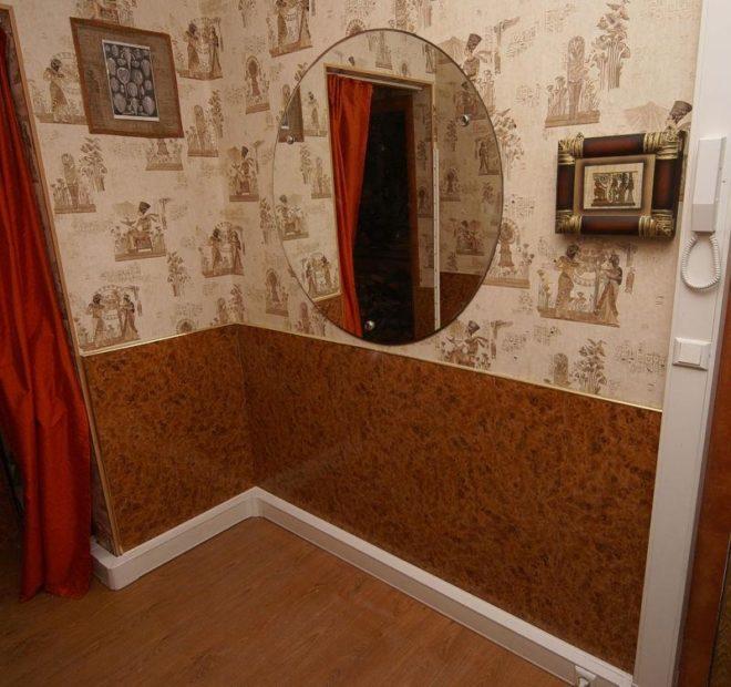 Ремонт коридора своими руками: дёшево и красиво