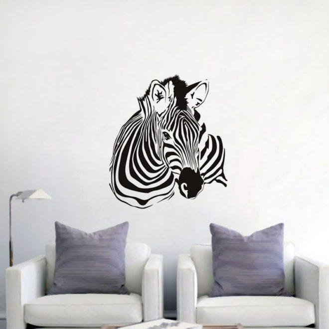 Трафареты для стен с животными