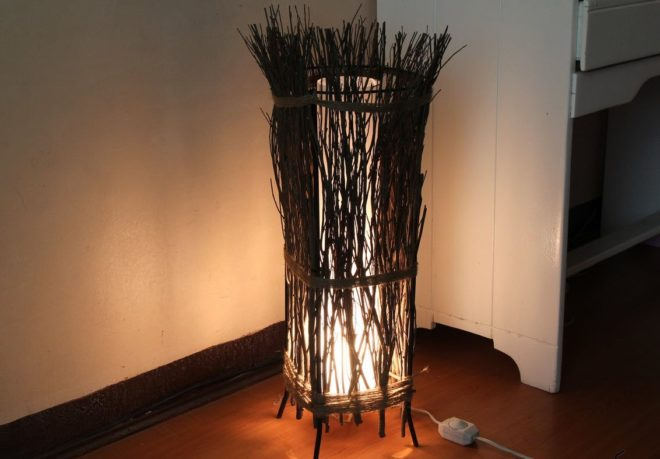 Фото светильника, изготовленного своими руками