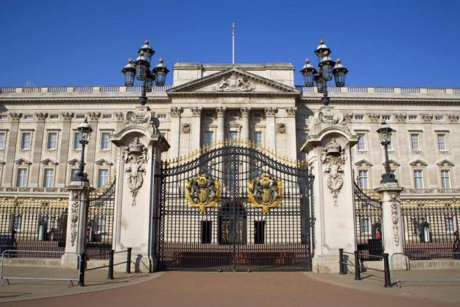 Забор Букингемского дворца