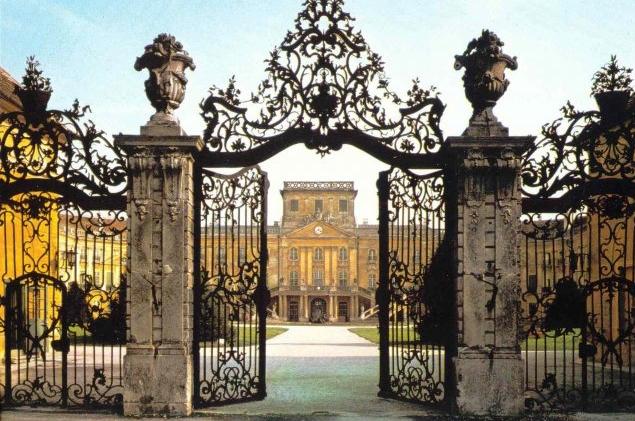 Забор замка Фертёд