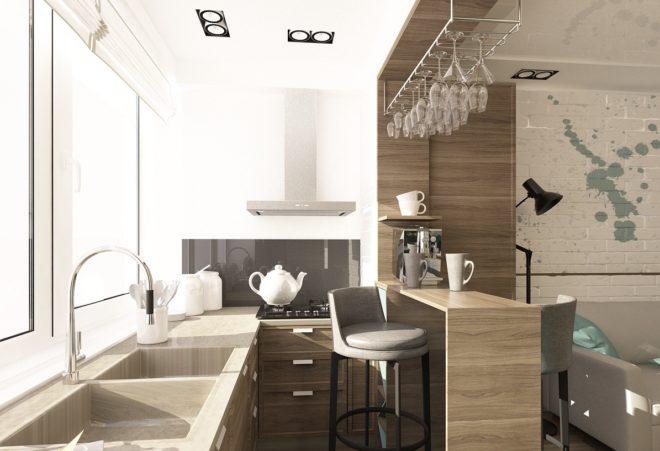 Балкон-кухня