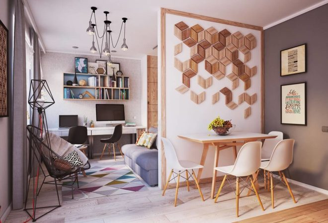 Уют маленькой квартиры создают мелкие детали интерьера