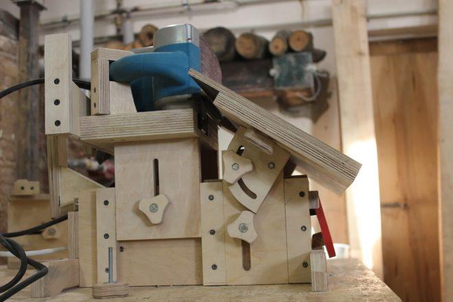 Шлифовальная машинка, сделанная своими руками