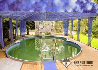Проекты домов с бассейнами