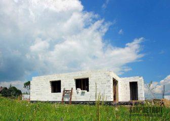 Основные этапы строительства из блоков