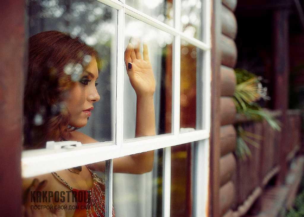 Окна в рубленном доме