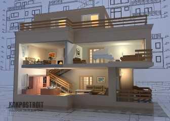 Проекты домов из газосиликатных блоков
