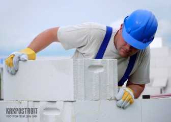 Специфика строительства дома из газобетонных блоков