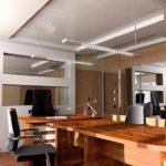 Комбинированные натяжные потолки: фото