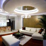 Потолки со скрытой подсветкой