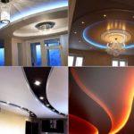 Одноуровневые и многоуровневые натяжные потолки