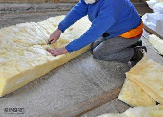 Потолки в деревянном доме: фото