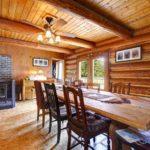 Красивые дома из бруса: интерьер и декор