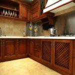 Размер напольной плитки для кухни