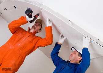 Многоуровневые потолки из гипсокартона: фото и инструкция по монтажу