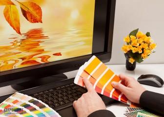 Сочетание цветов в интерьере: оранжевый и его компоненты