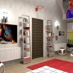 Оформление комнаты для домашнего кинотеатра