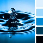 Синий цвет в интерьере