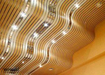 Монтаж реечного потолка: видео-пособие