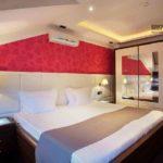 Сочетание розового в интерьере спальни