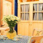 Занавески и текстиль на кухне