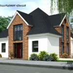 Дома с многощипцовой конструкцией крыши