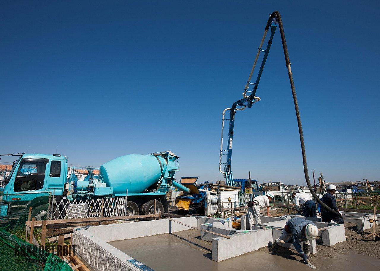 строительство бетоны