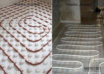 Теплый пол водяной: отзывы владельцев домов