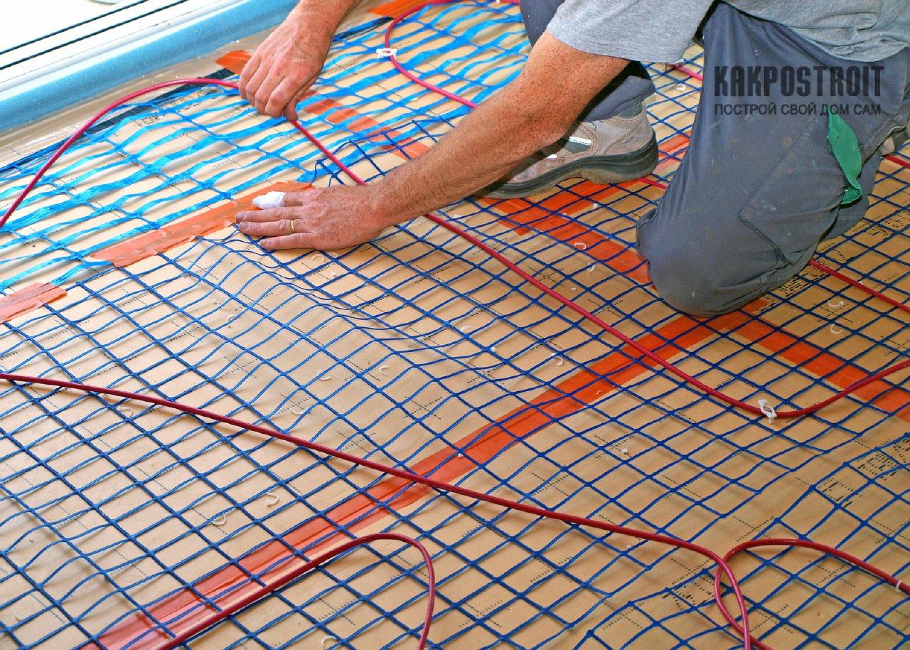 Теплые полы электрические своими руками фото 639