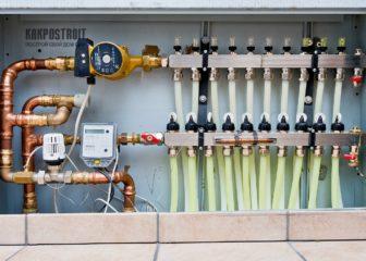 Теплый пол водяной: схема подключения