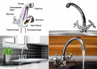 Обзор смесителей для кухни: фото и технические характеристики