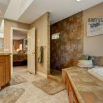 Керамическая плитка для ванной: фото вариантов раскладки