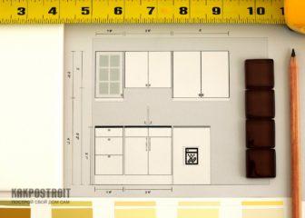Идеи для маленькой кухни: фото, планы, эскизы