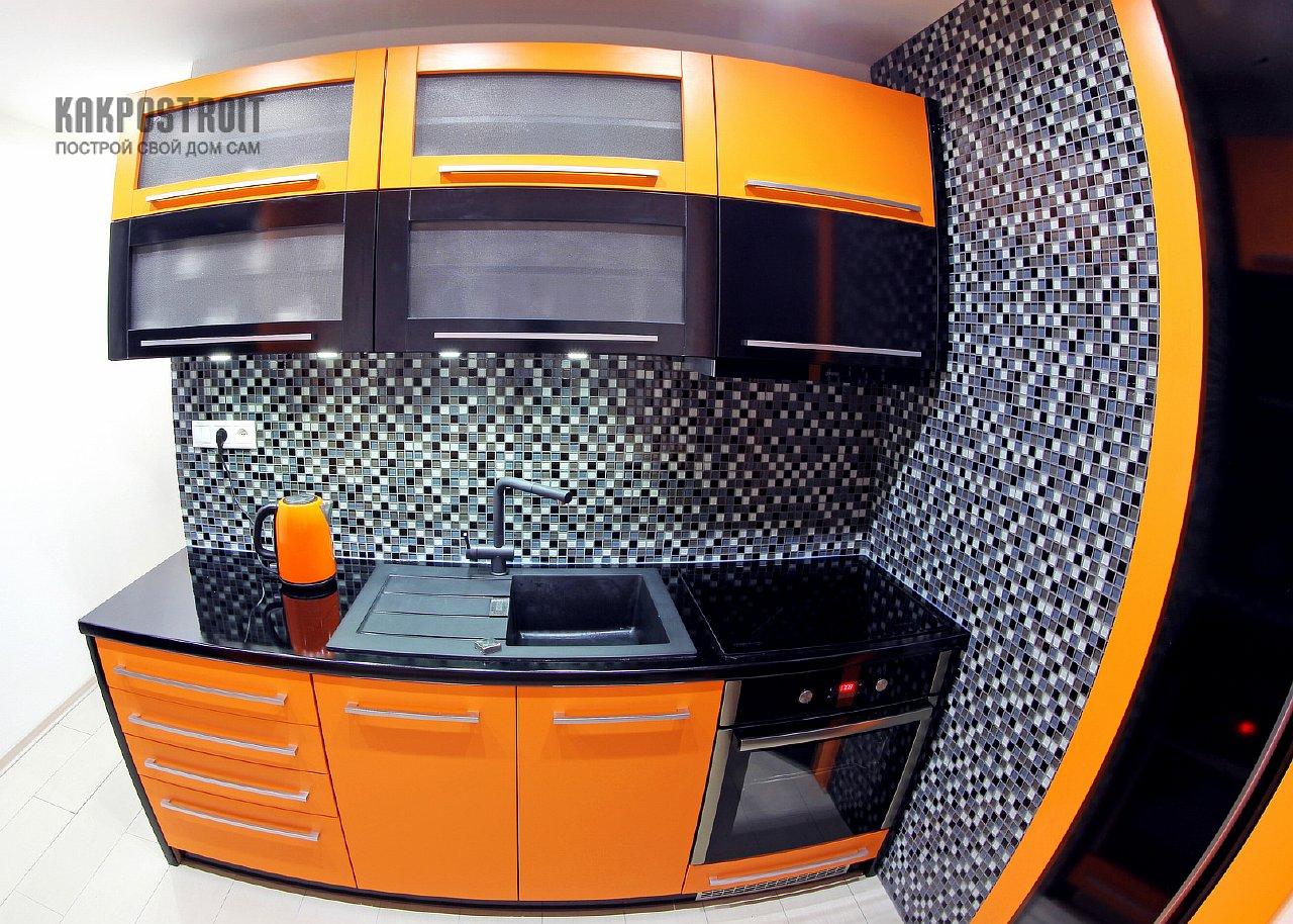 Интерьер маленькой кухни на фото