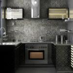 Дизайн для маленькой кухни: фото и проекты