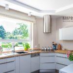 Римские шторы на кухню: фото интерьеров